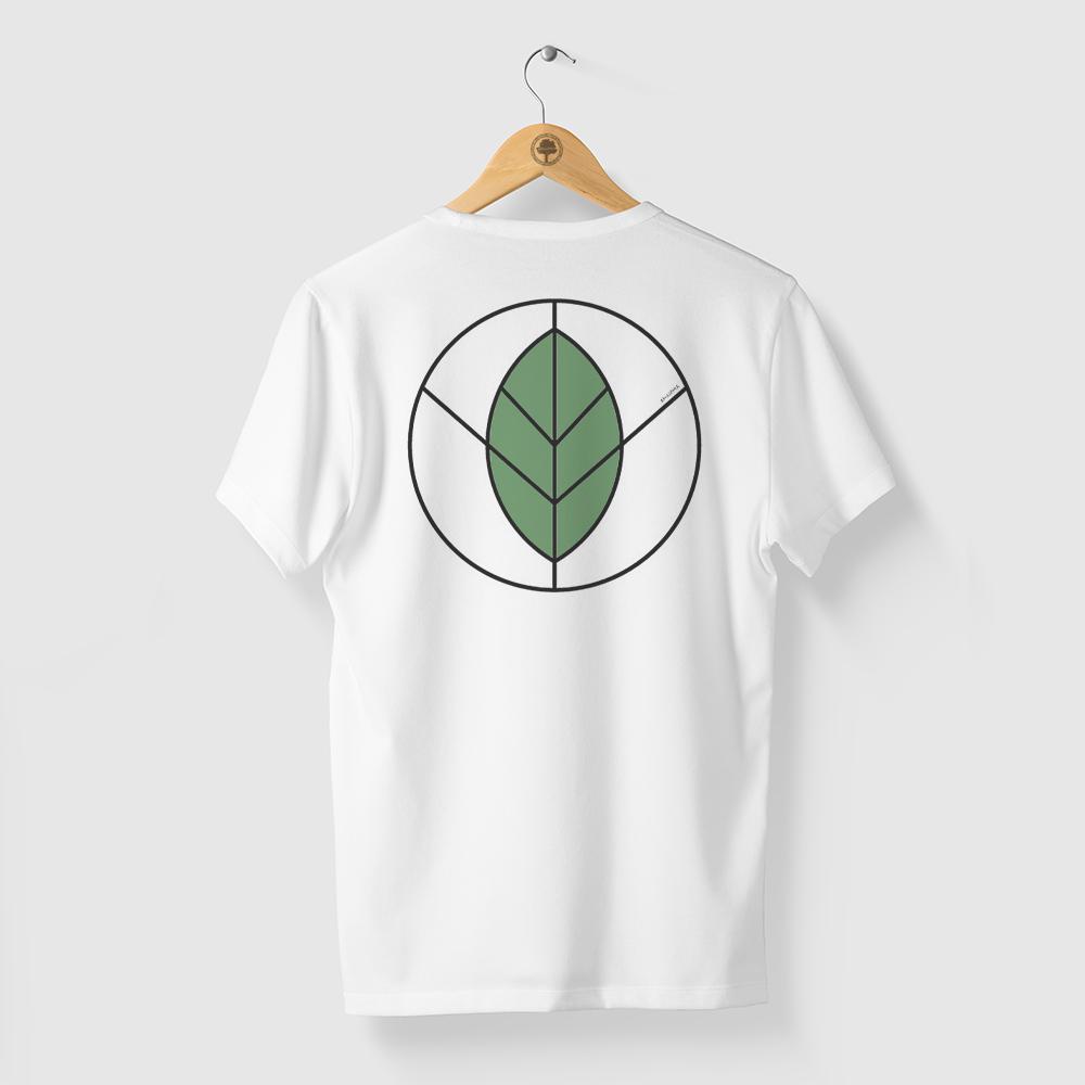 Camiseta Amazônia Paz e Natureza - Branco