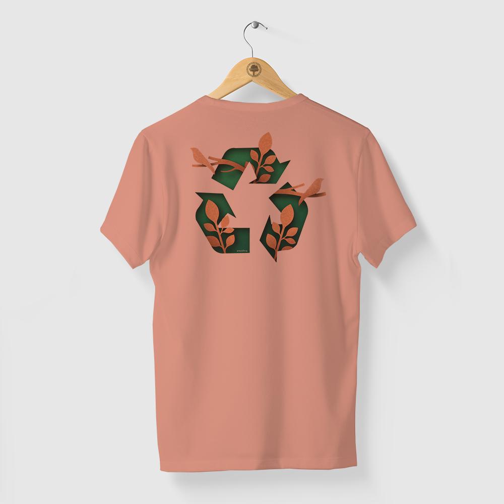 Camiseta Amazônia RE USE - SALMÃO