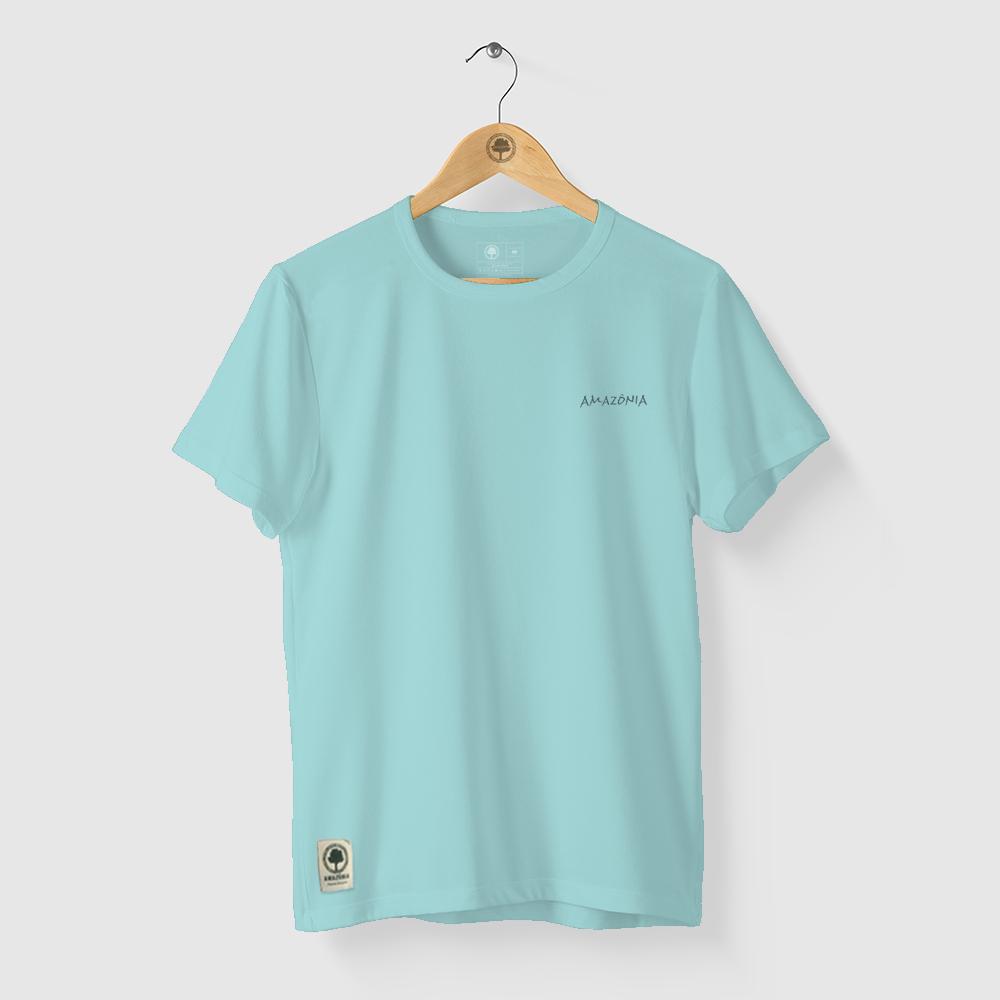 Camiseta Amazônia REPLANTAR - AZUL