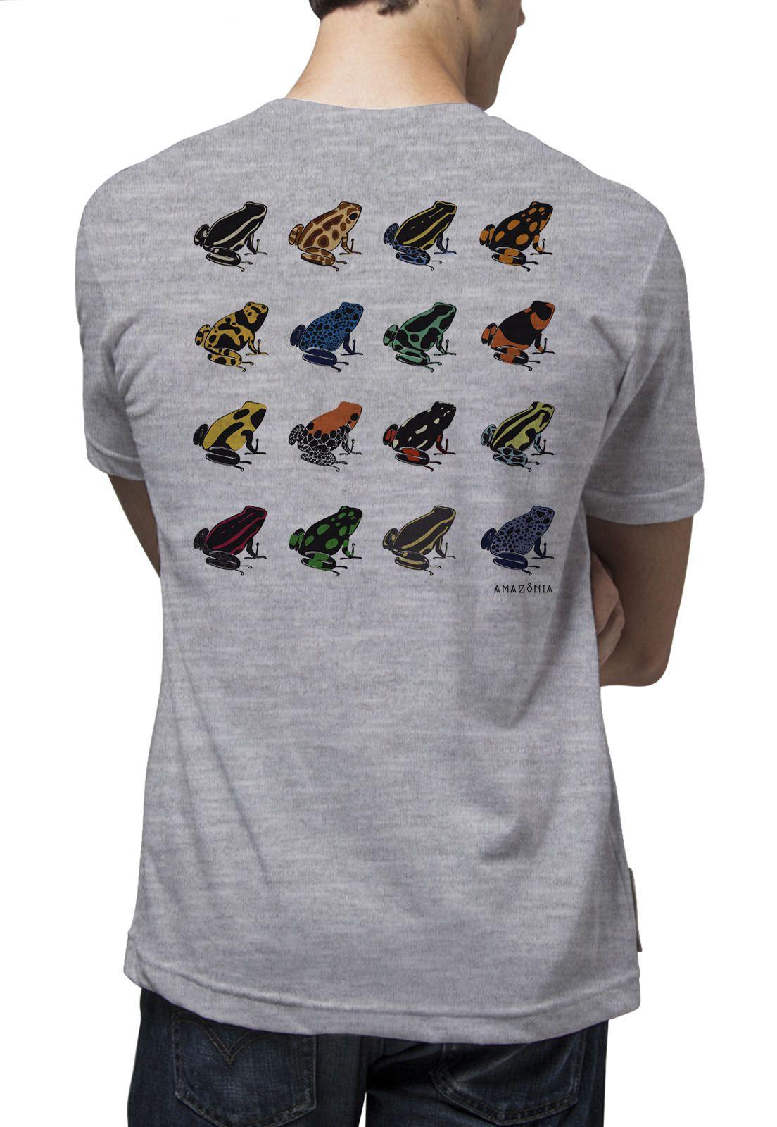 Camiseta Amazônia Sapos da Amazônia - Mescla