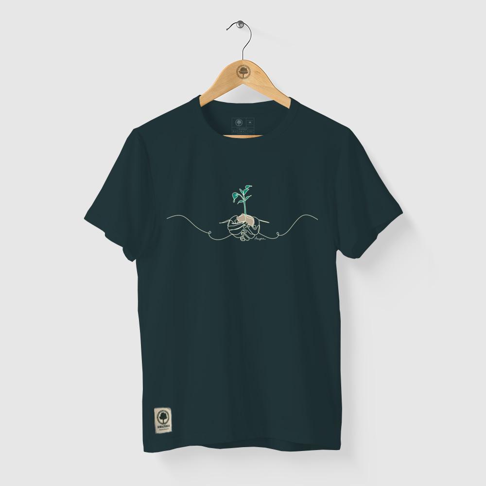 Camiseta Amazônia SEMEARTE - VERDE