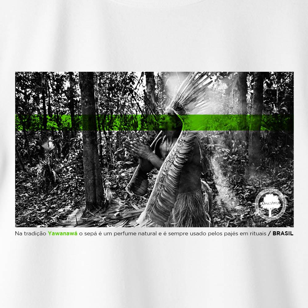 Camiseta Amazônia Sepá - Branco