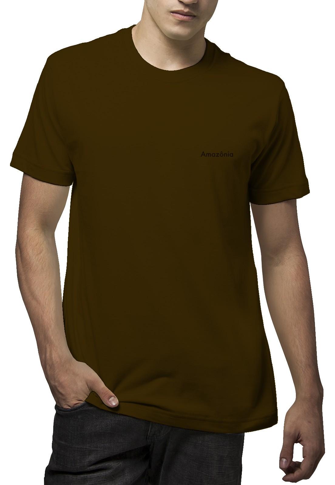 Camiseta Amazônia Serra do Cipó - Marrom