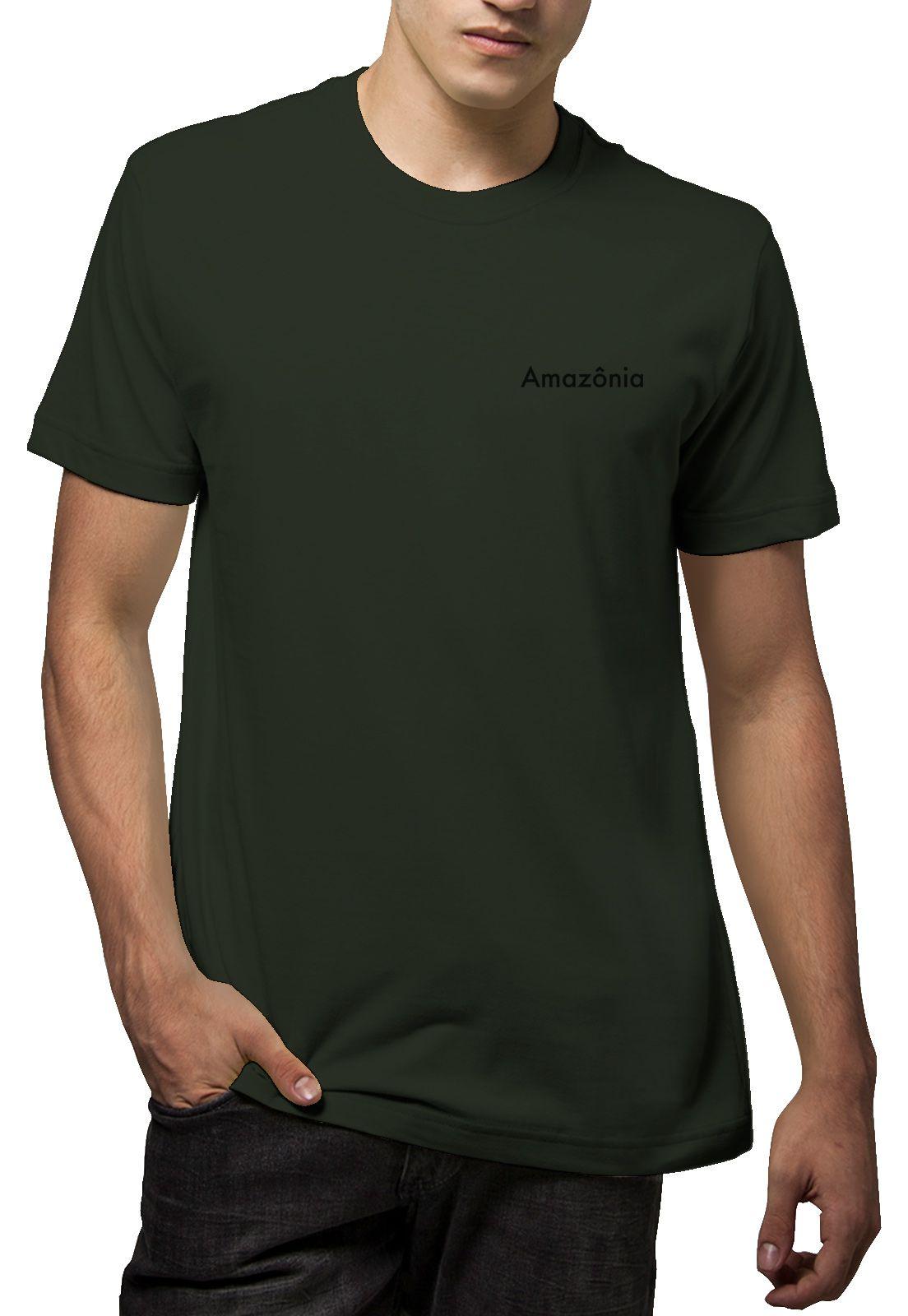 Camiseta Amazônia Serra do Cipó - Verde Escuro