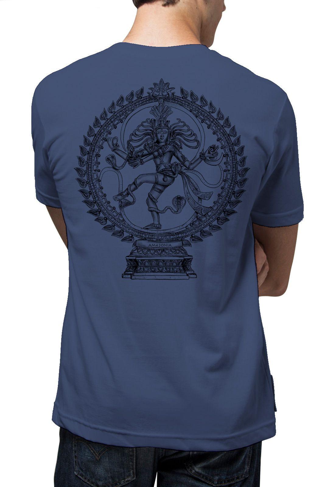 Camiseta Amazônia Sheeva - Azul