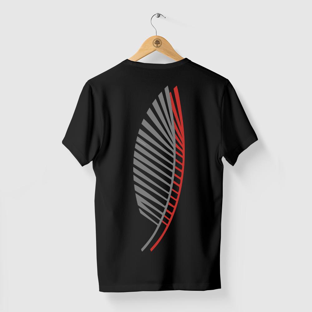Camiseta Amazônia Sobrefolhas - Preto