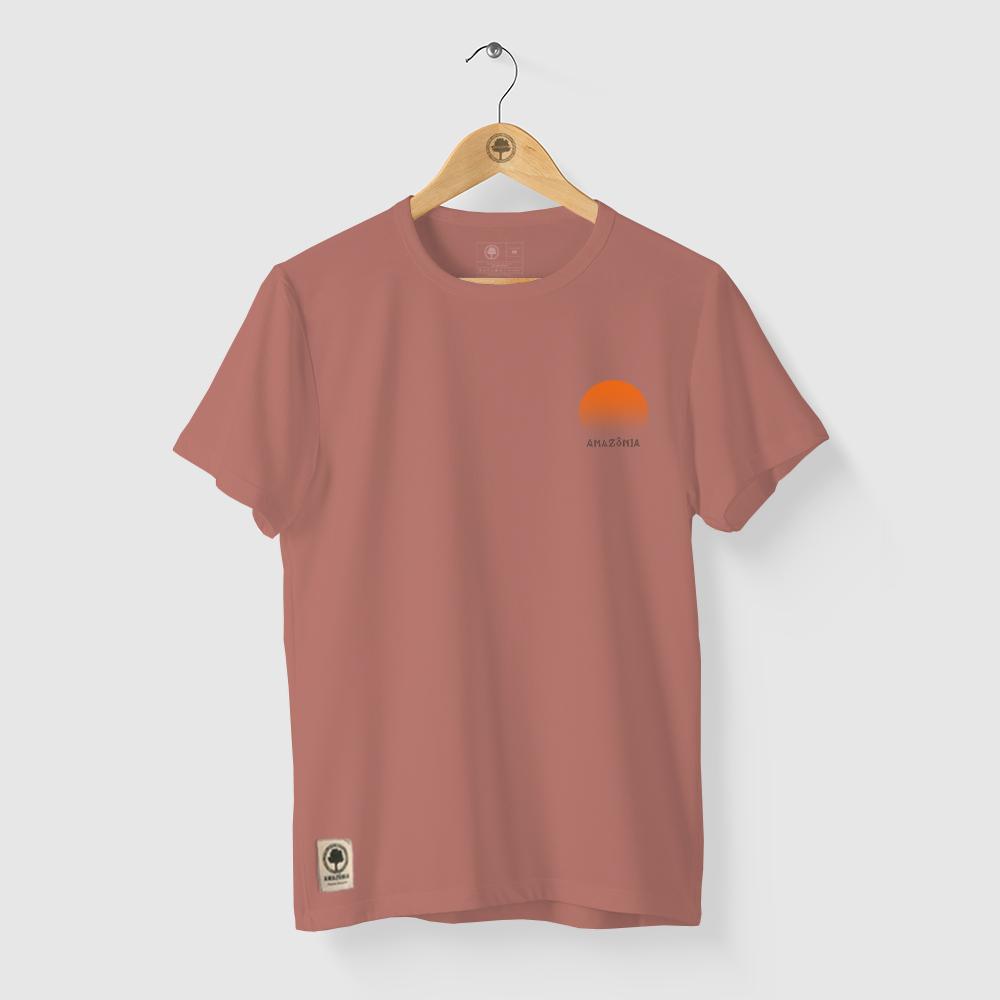 Camiseta Amazônia SOL COQUEIRO - ROSA