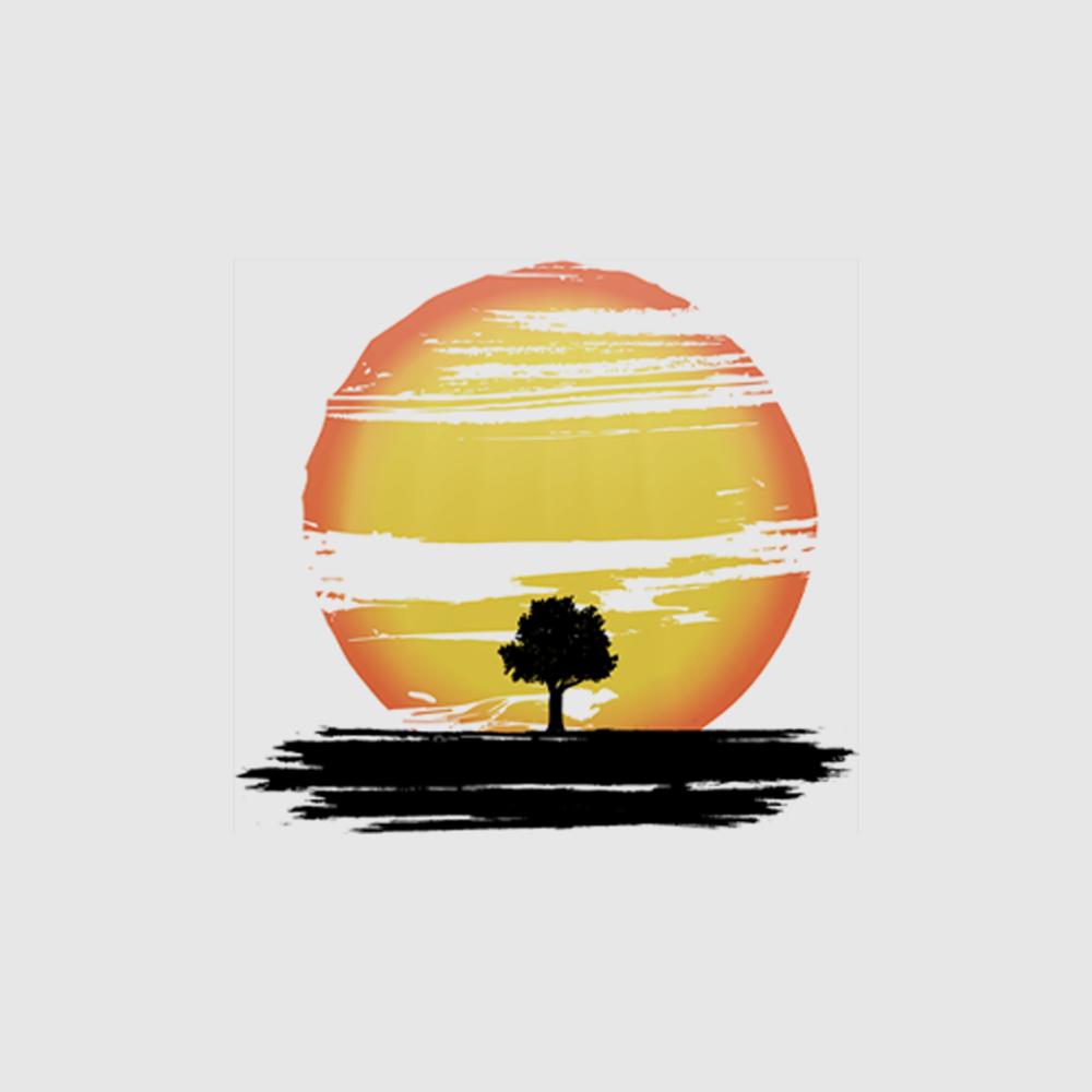Camiseta Amazônia Sol na Floresta - Branco