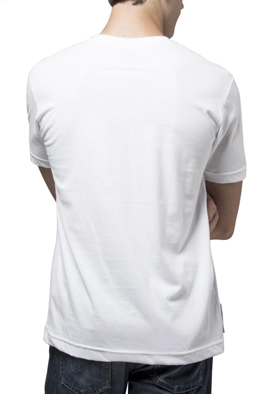 Camiseta Amazônia SOS Arara - Branco