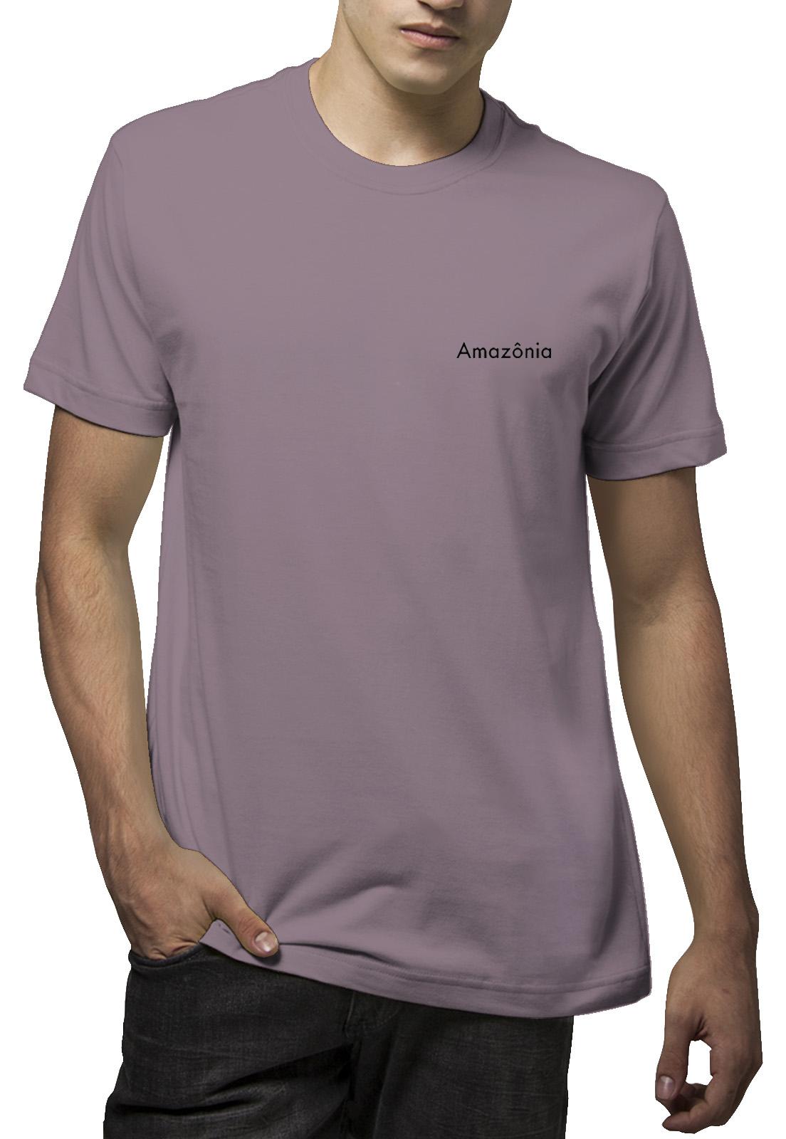 Camiseta Amazônia Taj Flower - Roxo