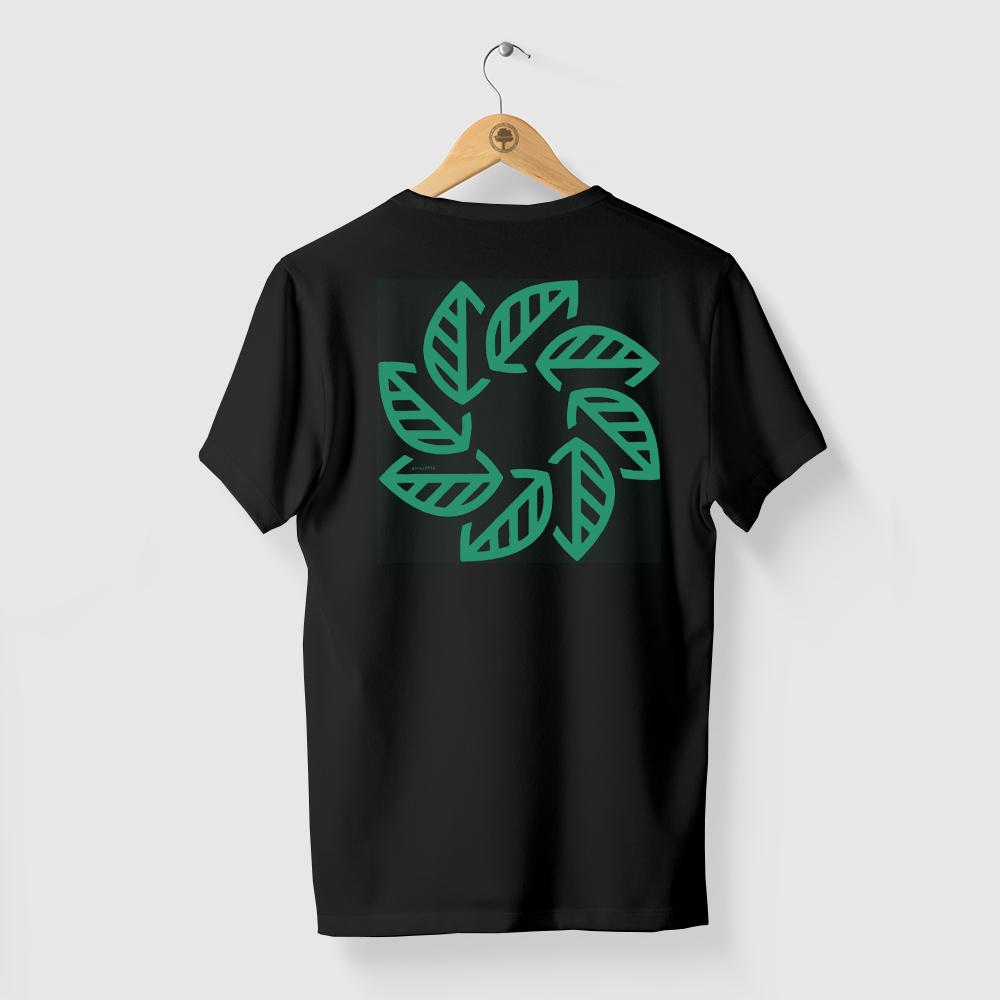 Camiseta Amazônia Tempo Natureza - Preto