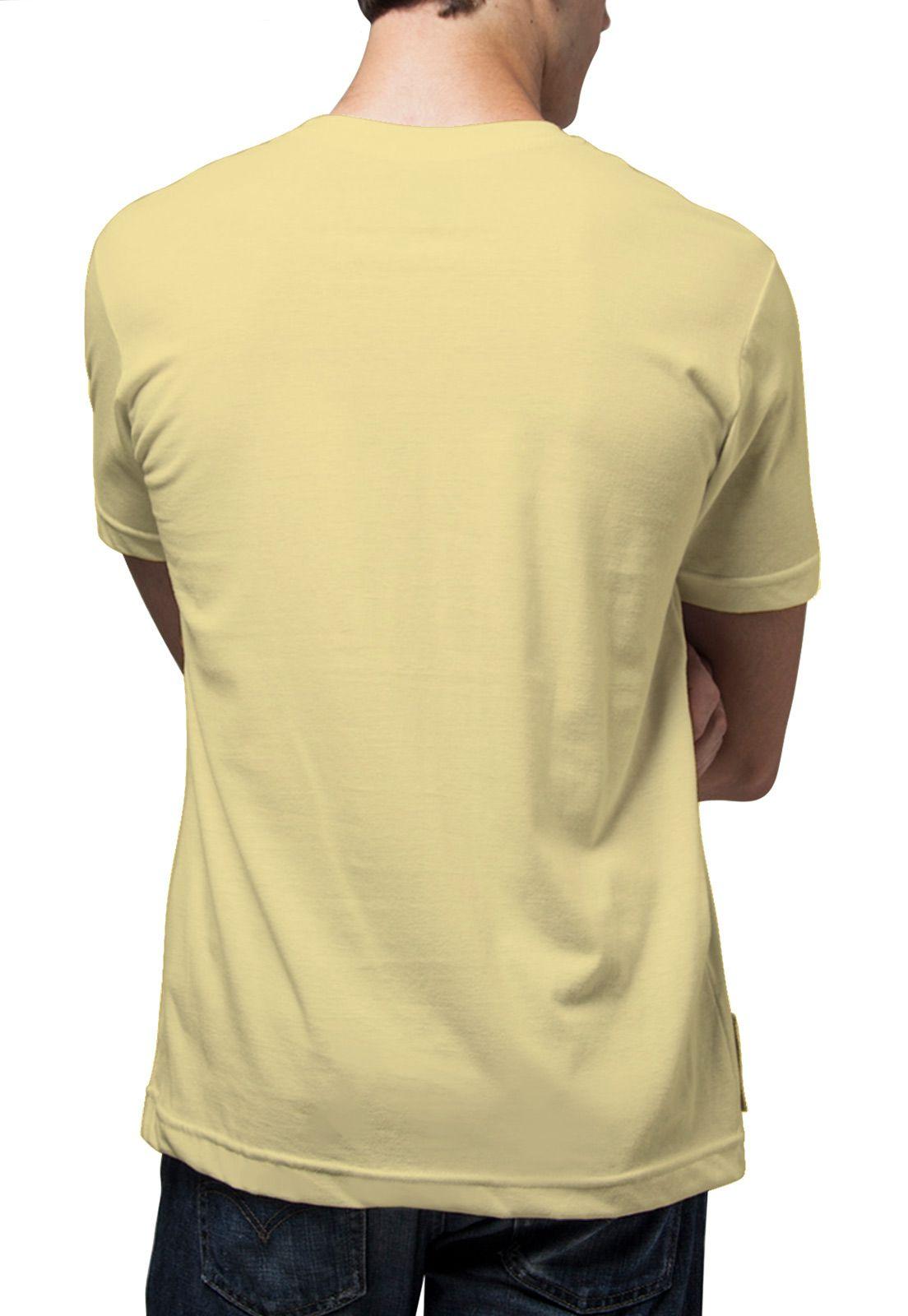 Camiseta Amazônia Todos Pela Natureza - Amarelo