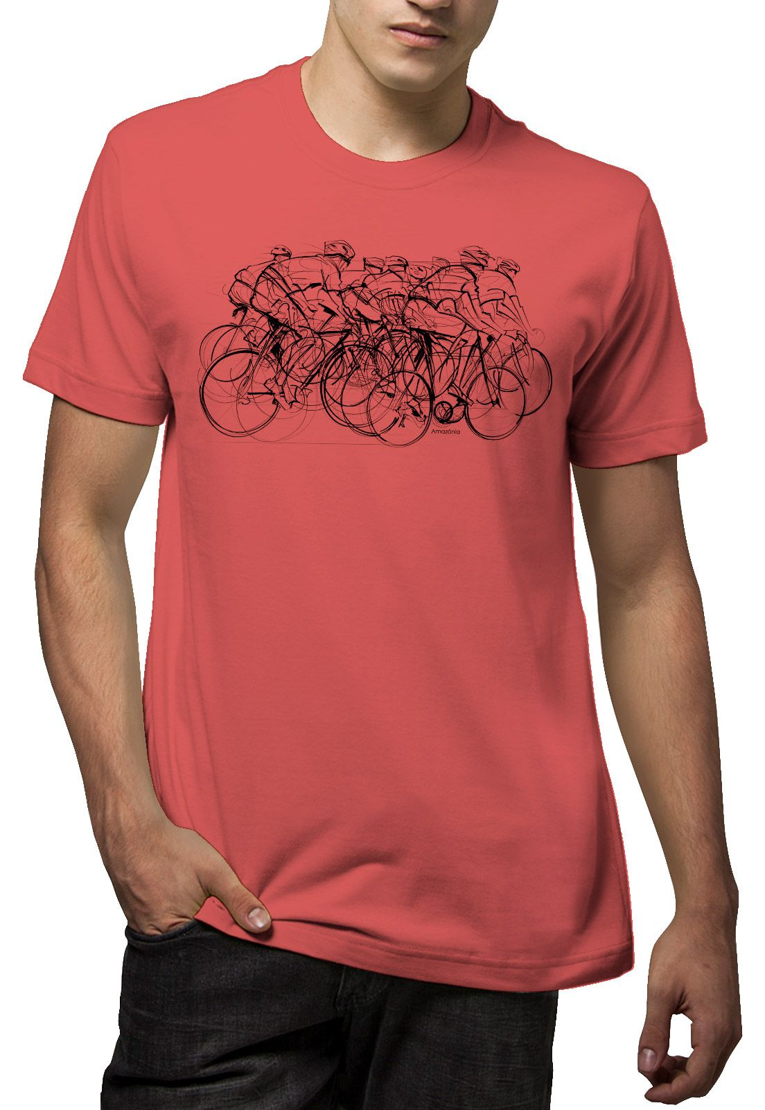 Camiseta Amazônia Tour de France - Rosa