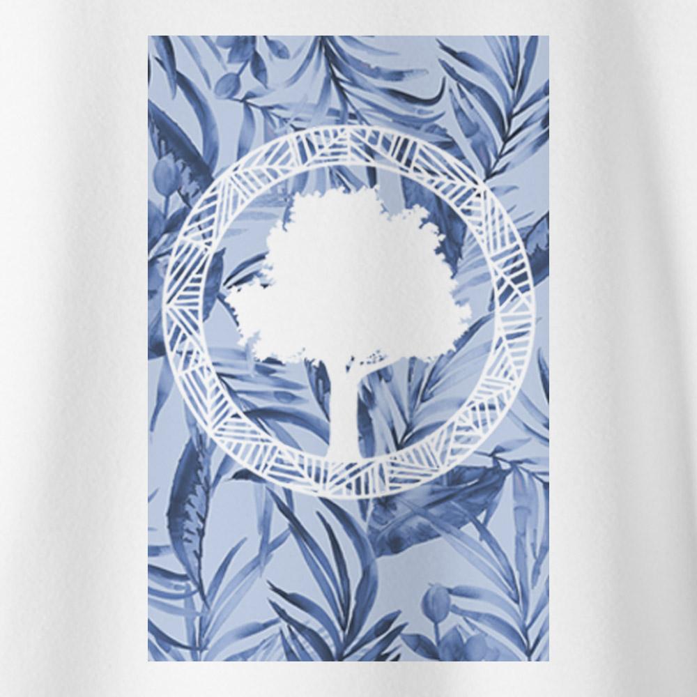 Camiseta Amazônia Tropical Logo - Branco