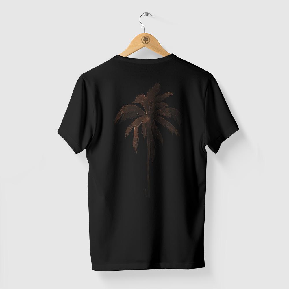 Camiseta Amazônia Tropical - Preto