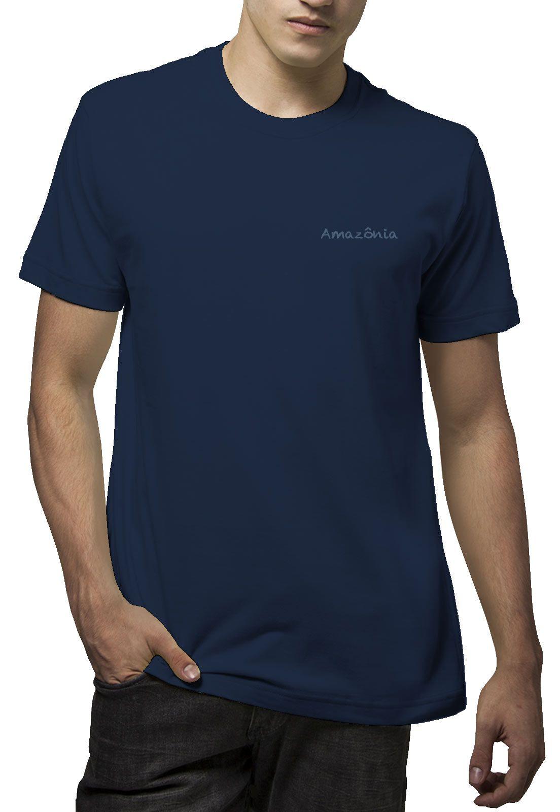 Camiseta Amazônia Tucano Noite - Azul Escuro