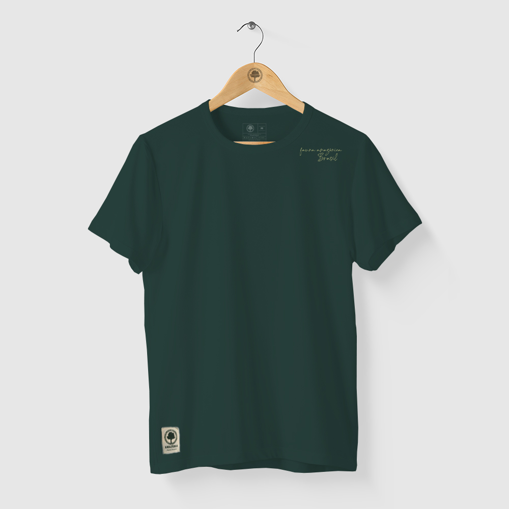 Camiseta Amazônia Tucano Toco - Verde Escuro