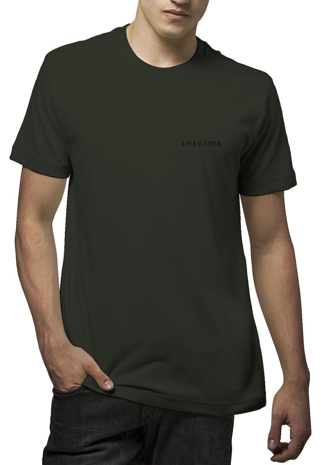 Camiseta Amazônia Tucano Tribal - Verde