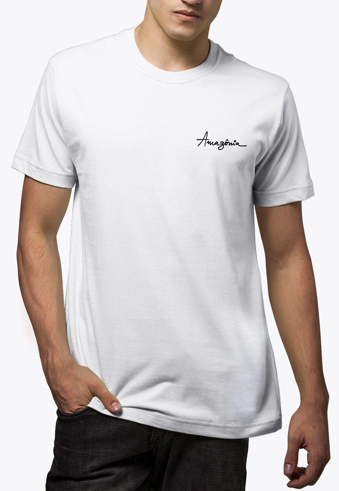 Camiseta Amazônia Veleiro - Branco