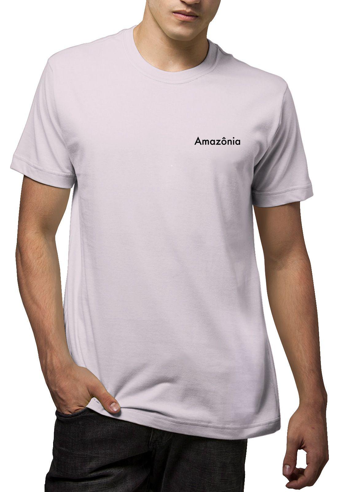 Camiseta Amazônia Wind Surf - Lilás