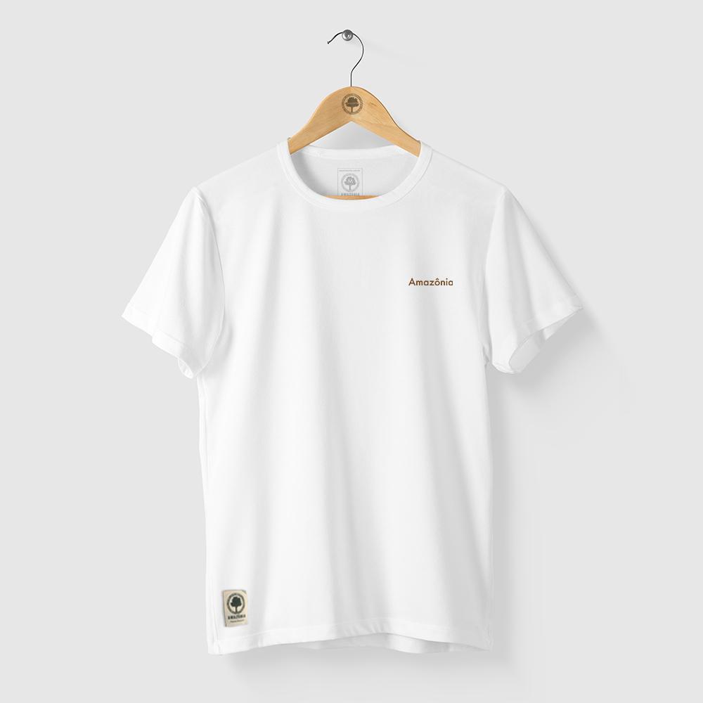 Camiseta Amazônia World Tree - Branco