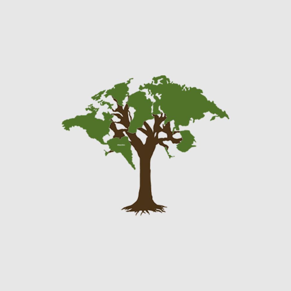 Camiseta Amazônia World Tree - Preto
