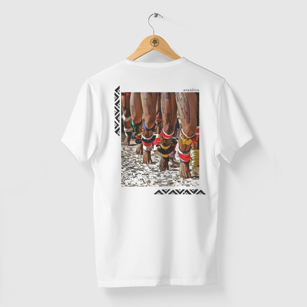 Camiseta Amazônia Yakwa - Branco