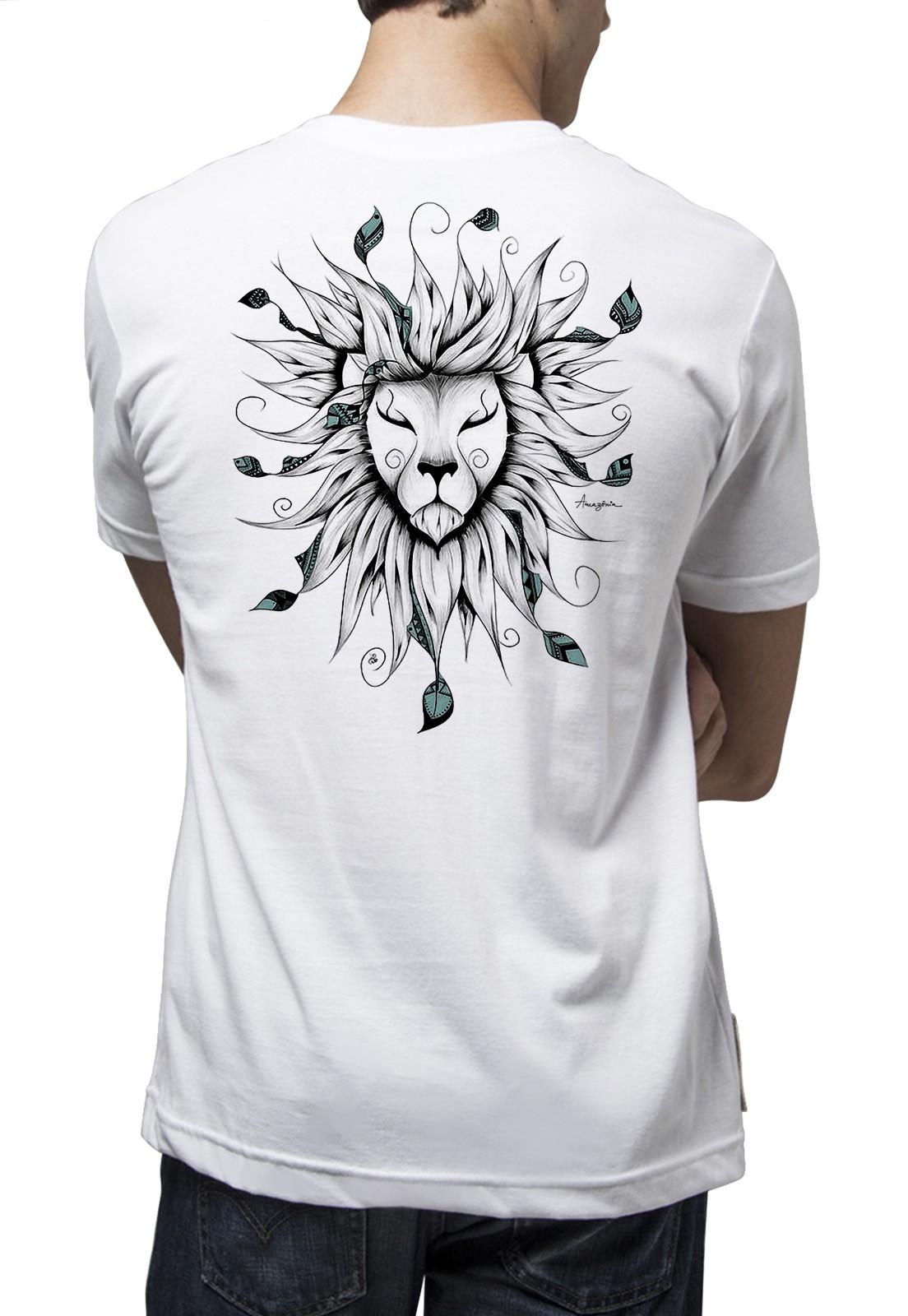 Camiseta Amazônia Zion - Branco