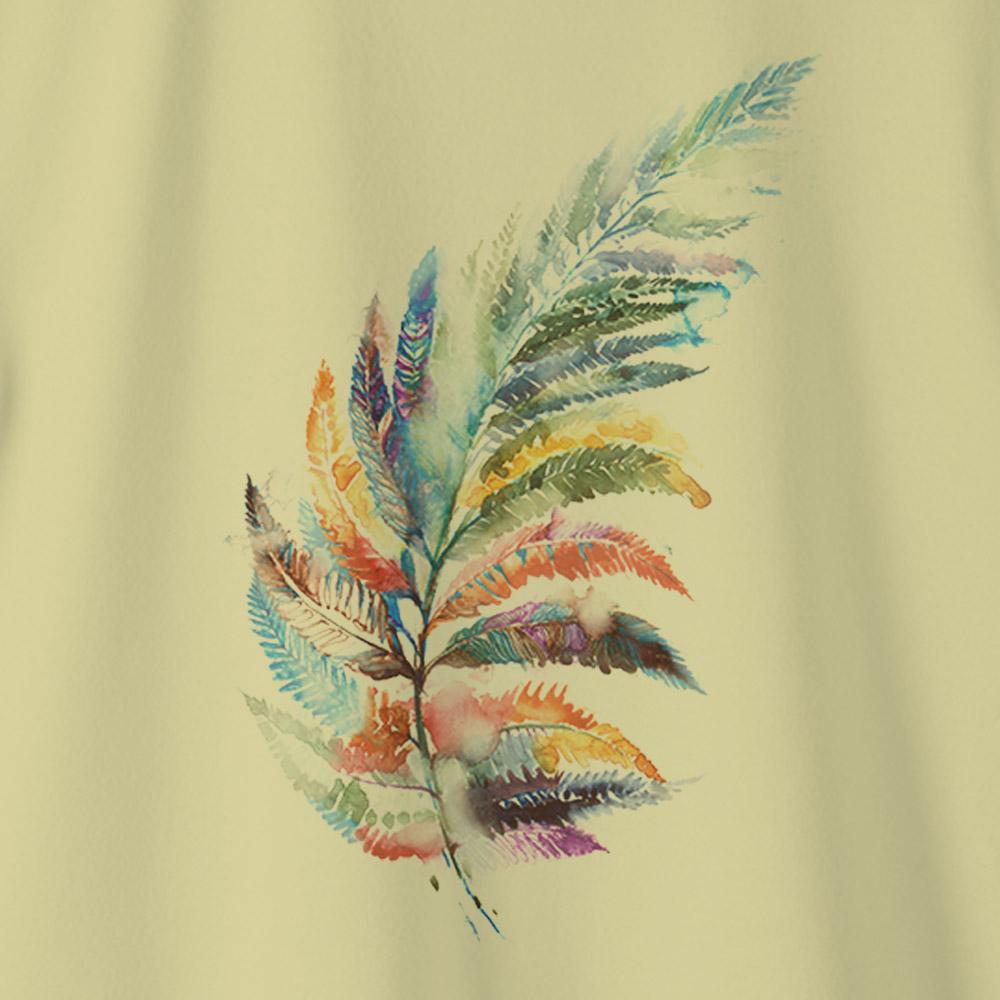 Camiseta Amazônia ORGANICOR - AMARELO
