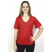Blusa Com Tachas Vermelho