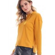 Blusa Tricot Rellus Amarelo