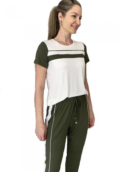 Conjunto Bicolor Verde