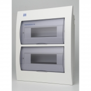 Quadro Distribuicao Para 24 Disjuntores Weg - Embutir  (Qdw02-24-Fe)