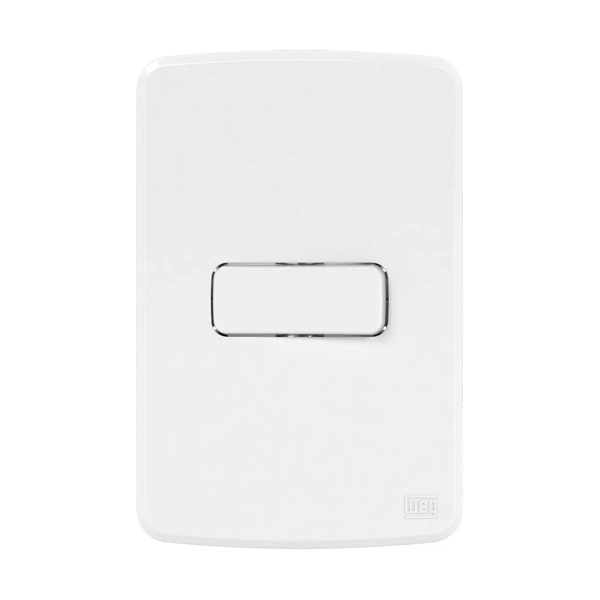 1 Interruptor Paralelo 10A/250V Placa 4X2 Composé Br