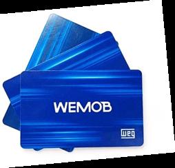 Estação de Recarga WEG - Cartão Eletrônico RFID para WEMOB (entrega em 5 dias)