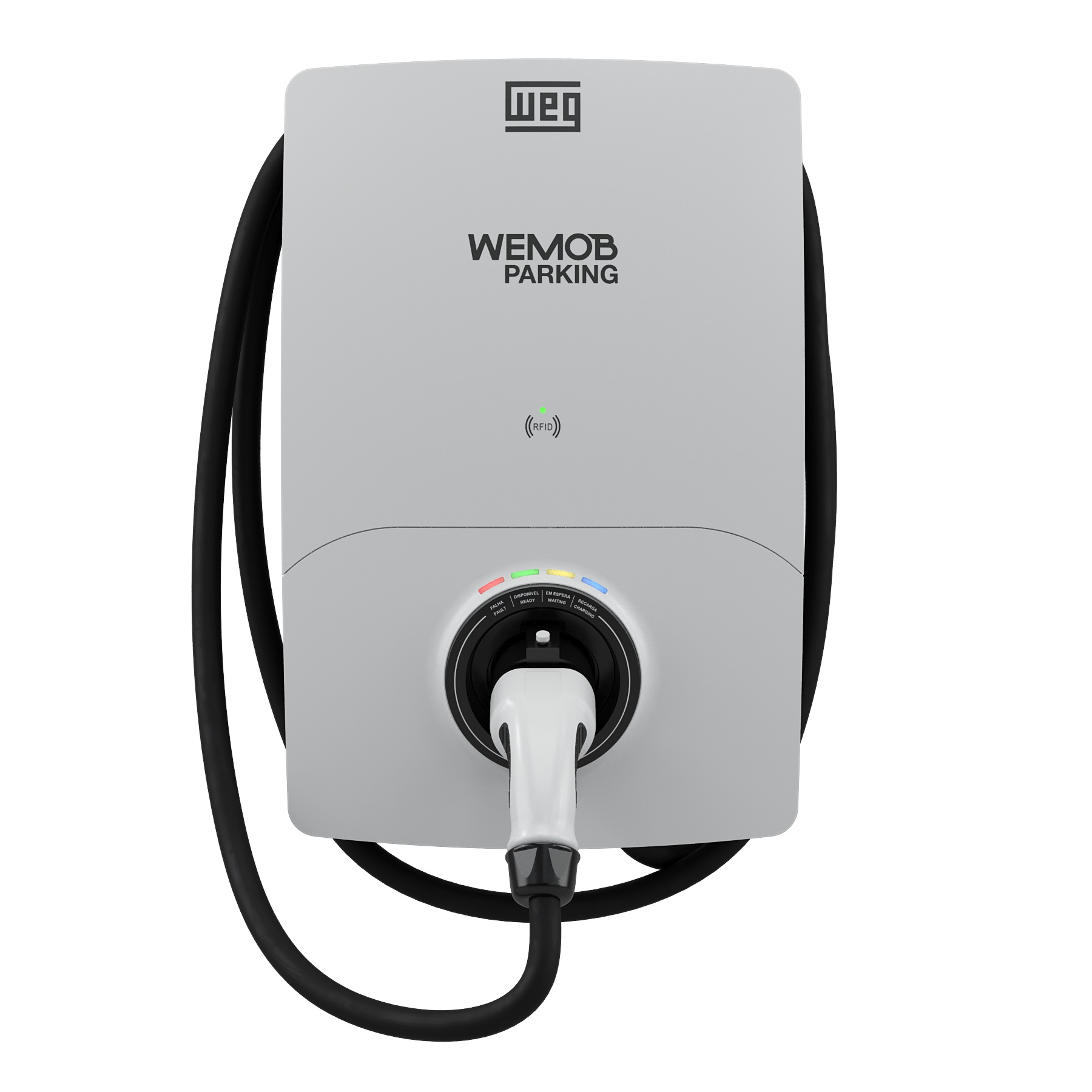 ESTAÇÃO DE RECARGA WEG - WEMOB PARKING G2 - 22kW - S/IHM C/ 1 CABO