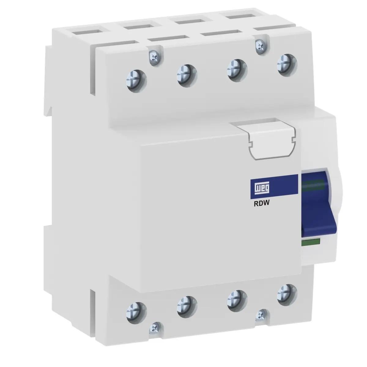 Interruptor Diferencial Residual (Dr) Rdw-30-40-4-D17