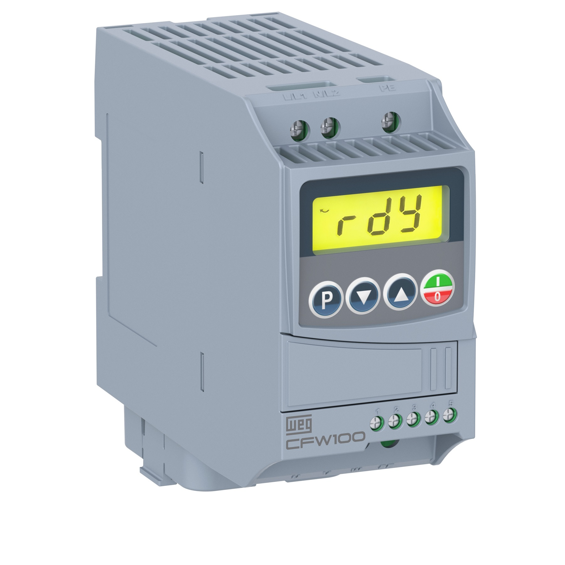 Inversor De Frequência WEG CFW100 A01P6S220G2 (entrega em 5 dias)