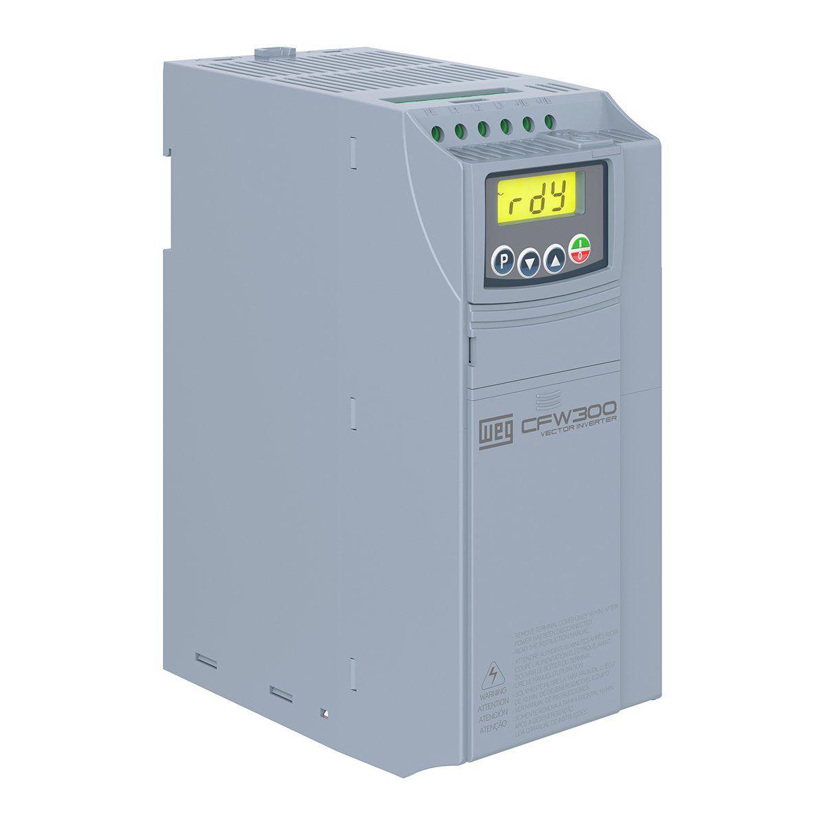 Inversor De Frequência WEG CFW300 C15P0T4Db20 (entrega em 5 dias)