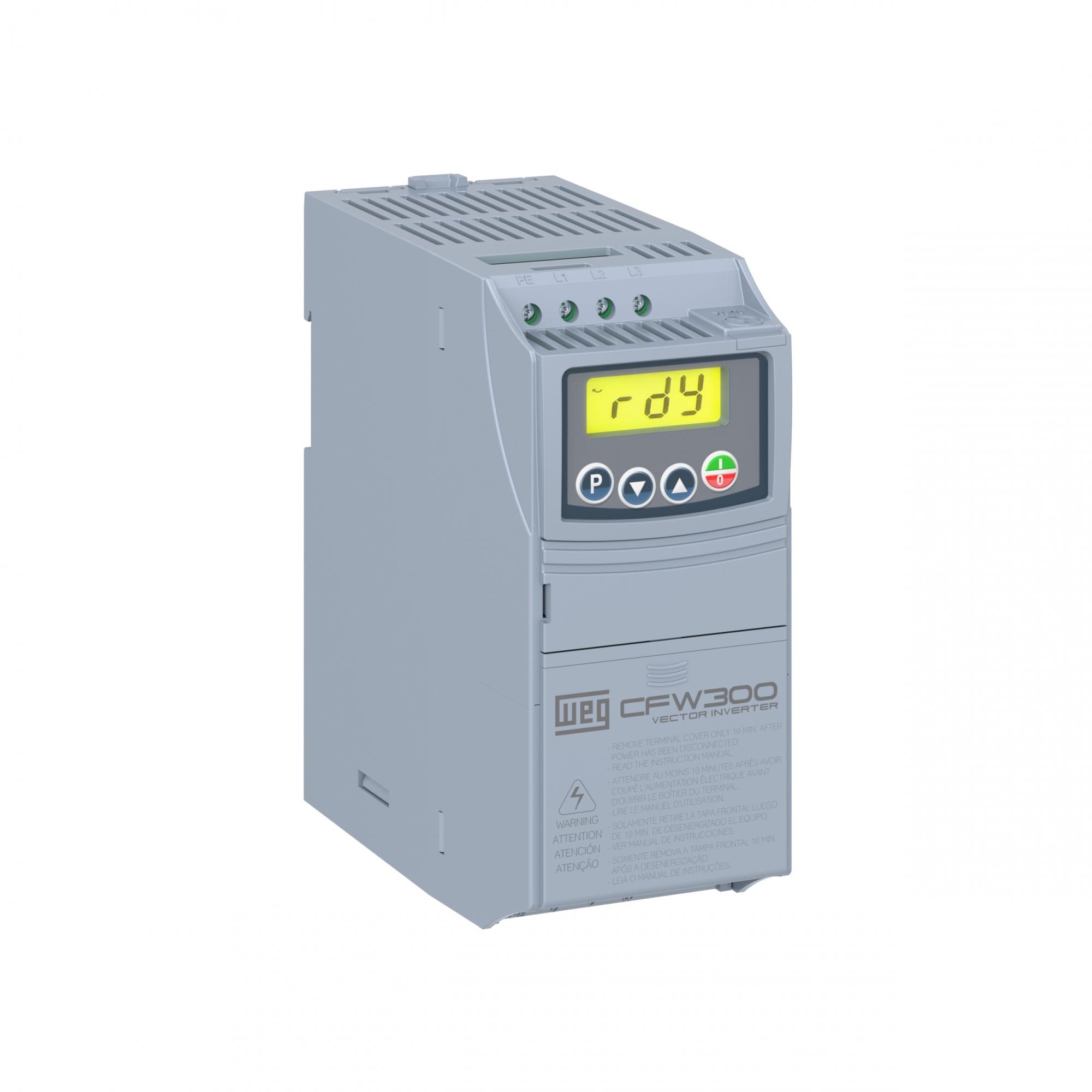 Inversor De Frequência Weg Cfw300 A04P2S2Nb20