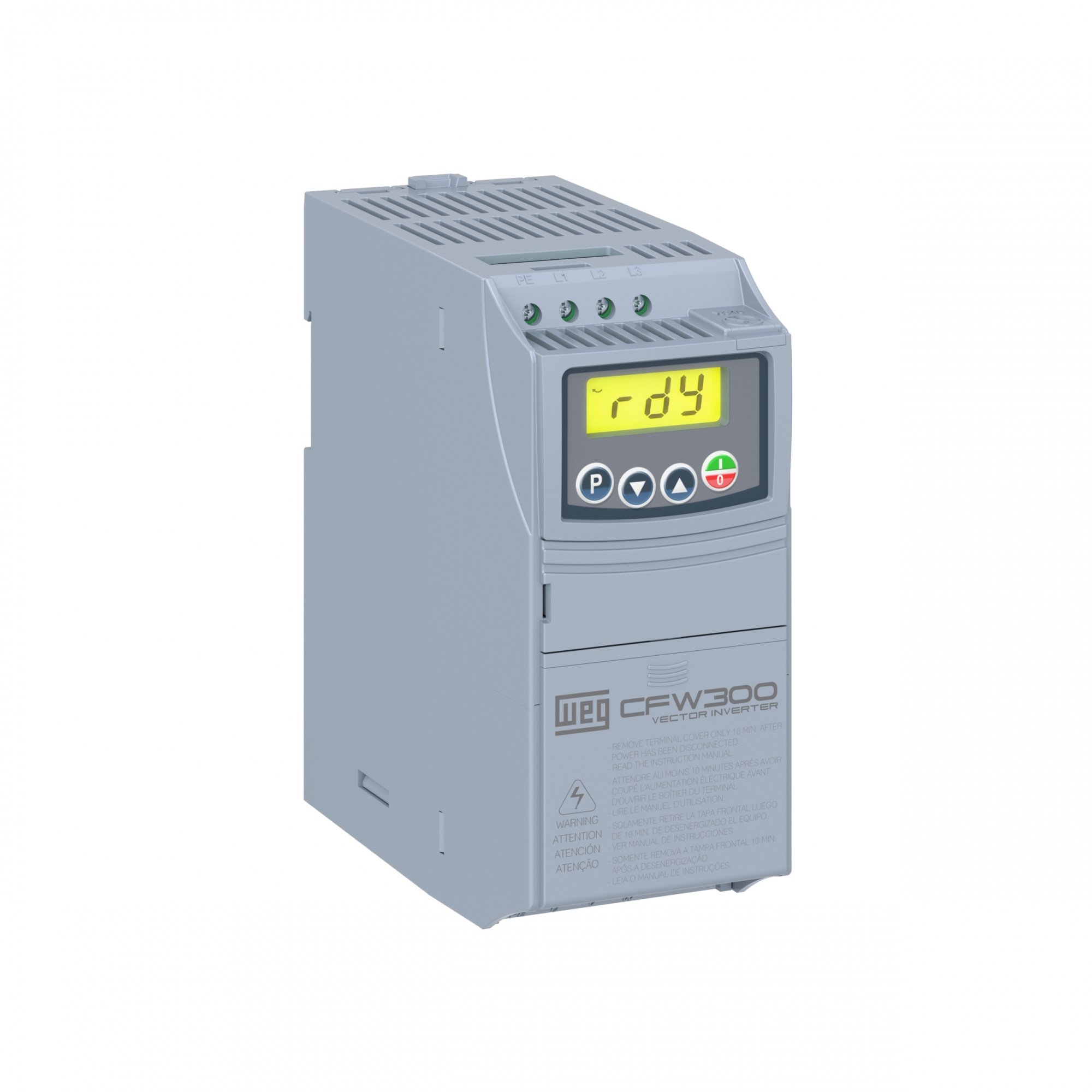 Inversor De Frequência Weg Cfw300 A07P3S2Nb20