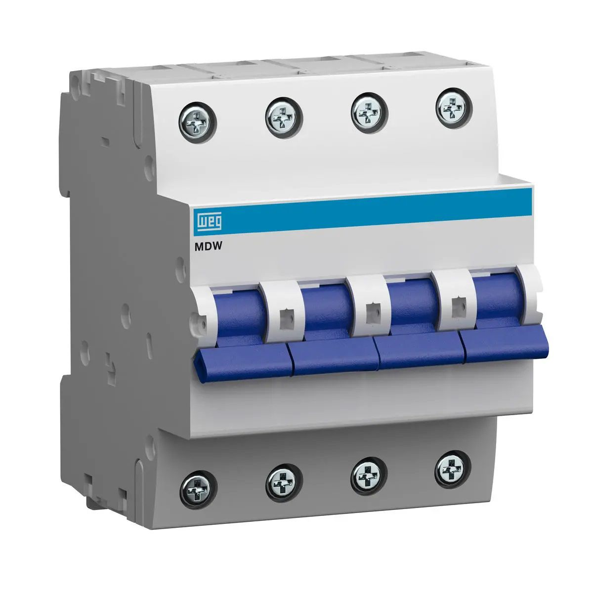 Minidisjuntor Termomagnético WEG MDW-C125-4 (entrega em 5 dias)