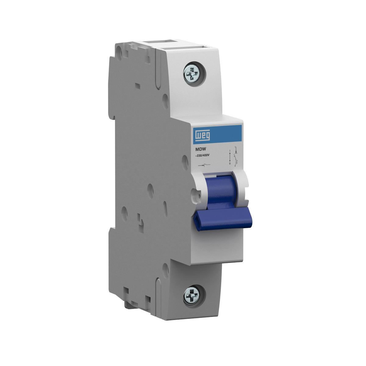 Minidisjuntor Termomagnético Weg Mdw-C10