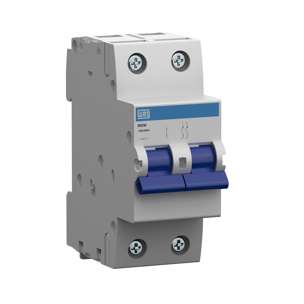 Minidisjuntor Termomagnético Weg Mdw-C20-2