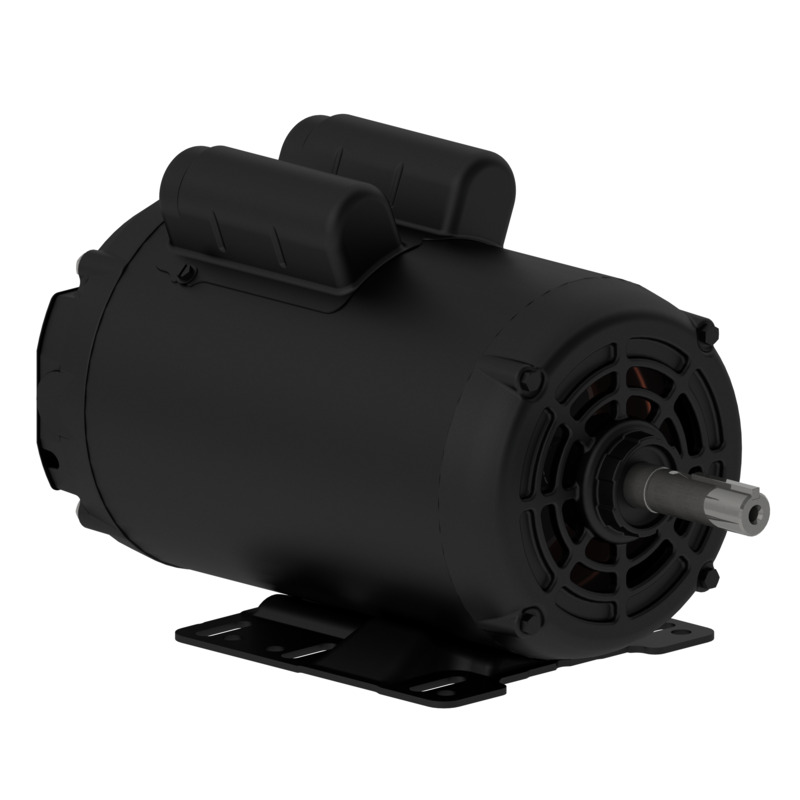 Motor Elétrico Monofásico - Betoneiras 1CV 04 W56 110-127/220-254V 60Hz B3D IP21