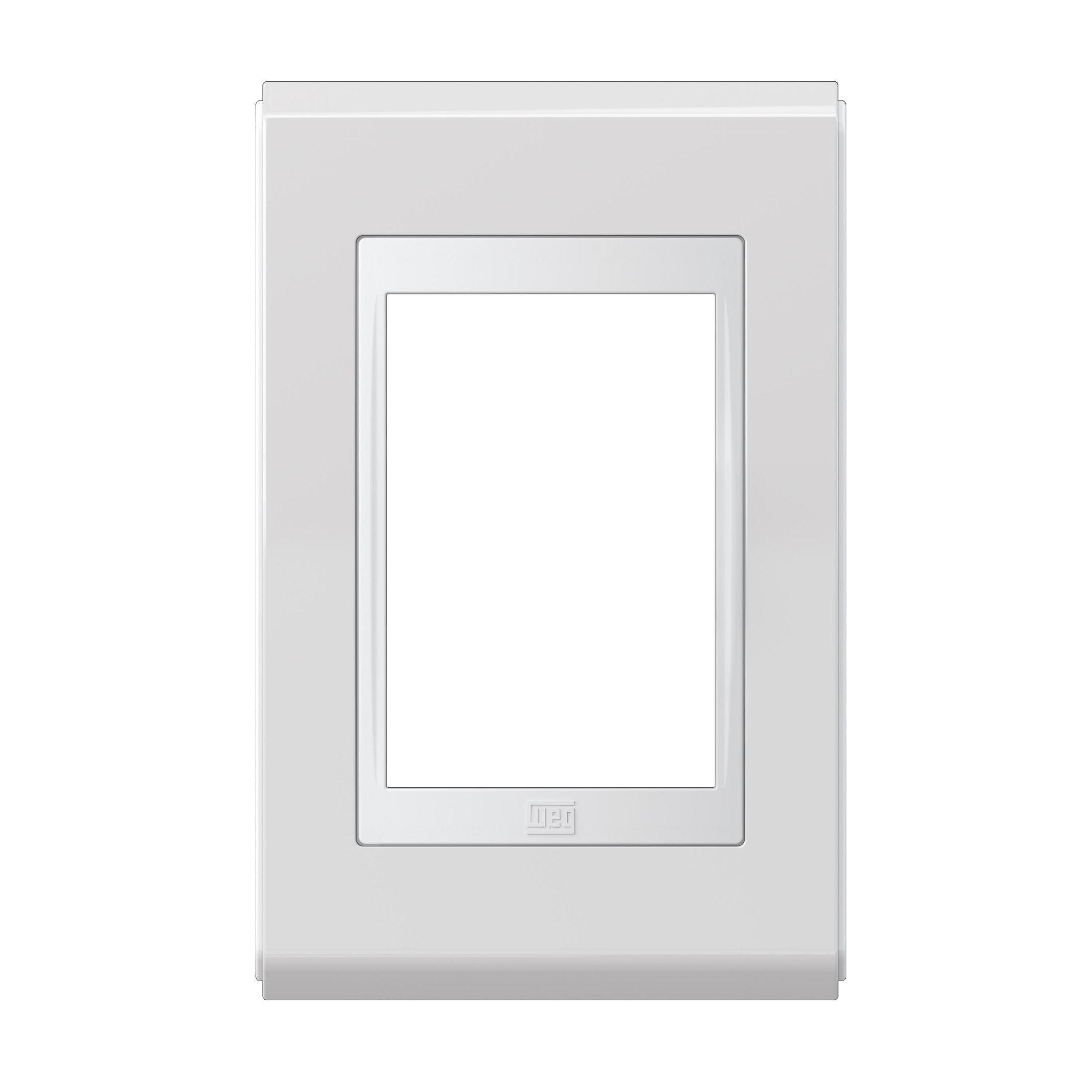 Placa 4X2' Refinatto Premium Fundo Branco