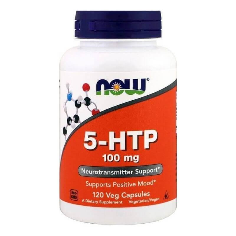 5 HTP 100mg Now Foods (120 Cápsulas)