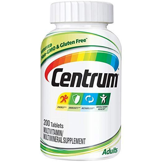 Centrum Multivitaminico 200 Comprimidos