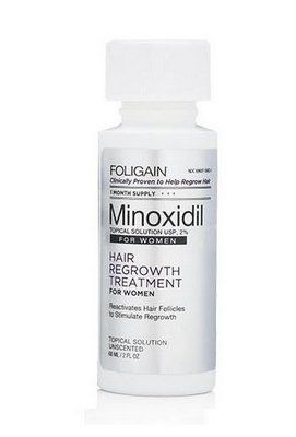 MINOXIDIL FOLIGAIN 5% PARA MULHERES (1 MÊS)