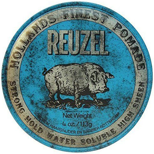 Pomada Reuzel Azul Strong Hold Water Soluble High Sheen 113g